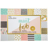 Mint To Be Fab Foil Paper Pack